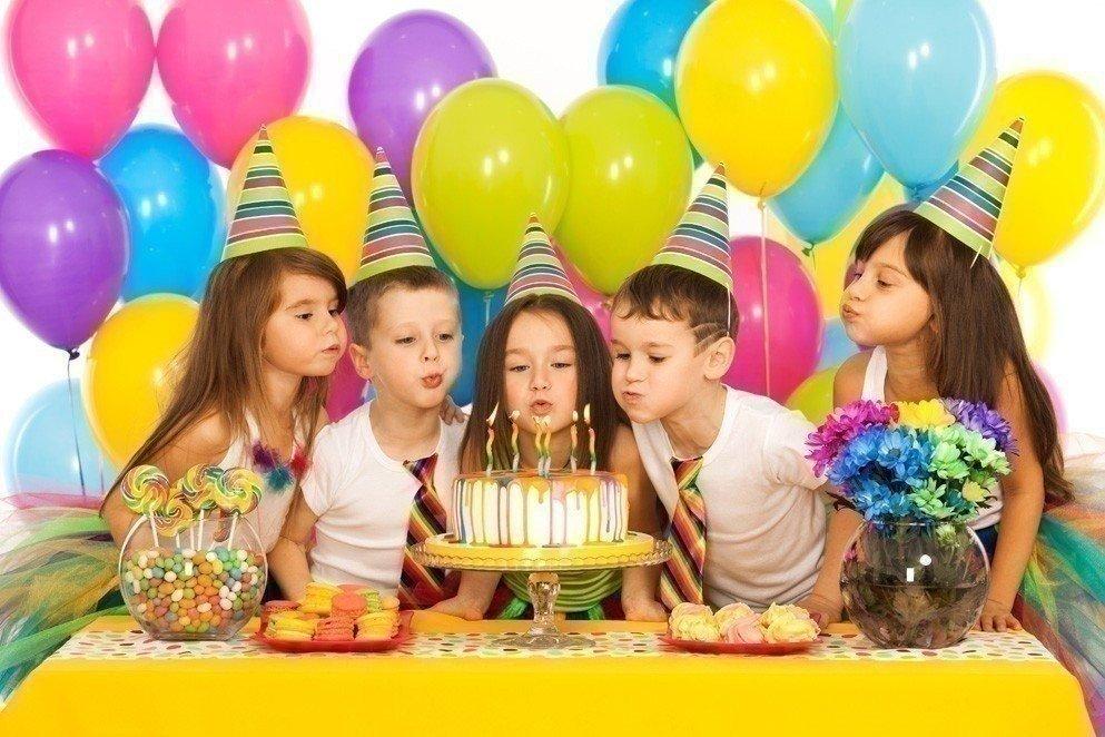 Украшение шарами на день рождения ребенка