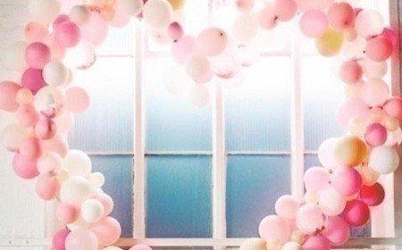 оформление шарами выпускной +в детском саду