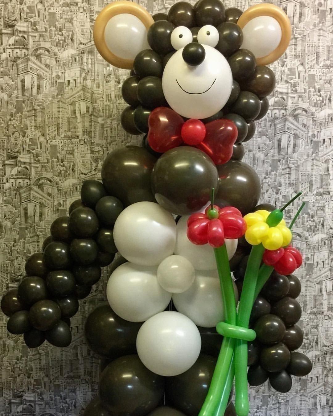 выпускной в детском саду оформление зала шарами