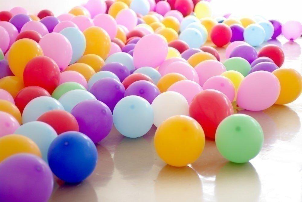 оформление шарами выпускного в детском саду фото