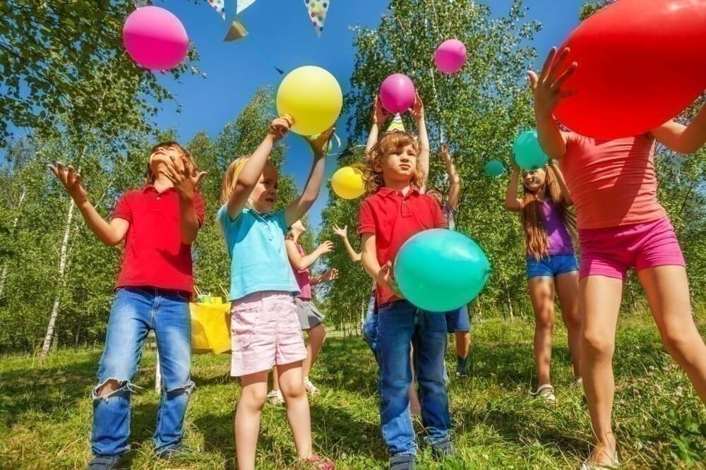 Игры с воздушными шарами