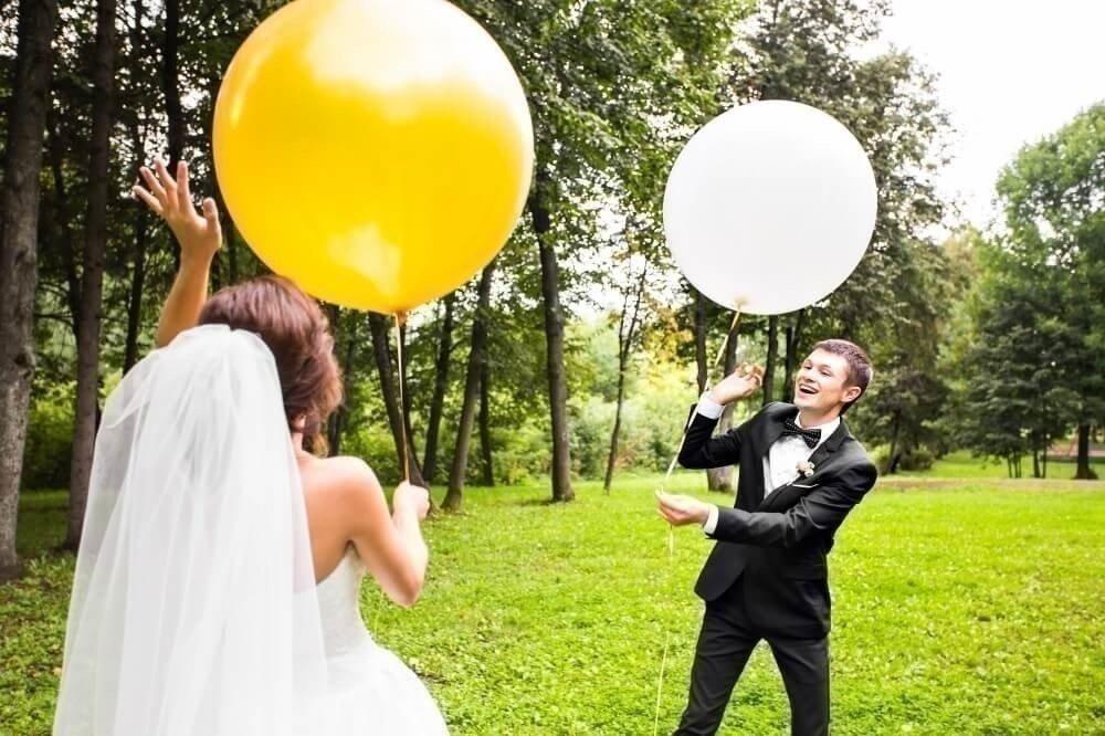Конкурс с шарами на свадьбу