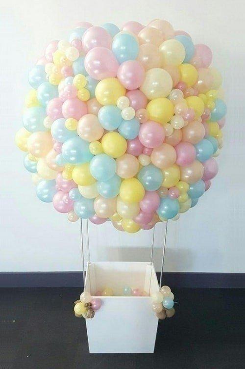 Подарок на гелиевых шариках