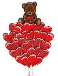 Букет Сердечный 20 шт
