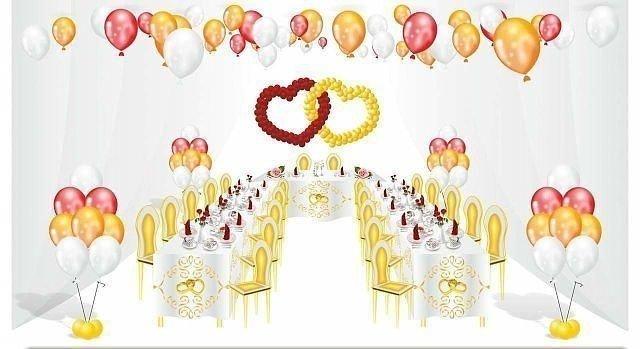 Свадебное оформление 5