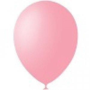 Шарики под потолок розовый 1 шт