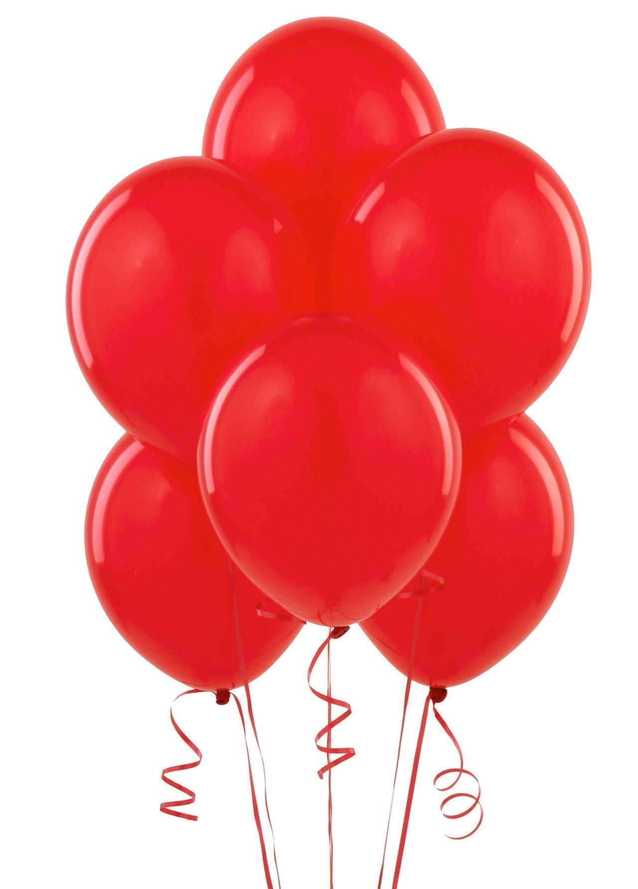 Облако красных шаров 25 шт