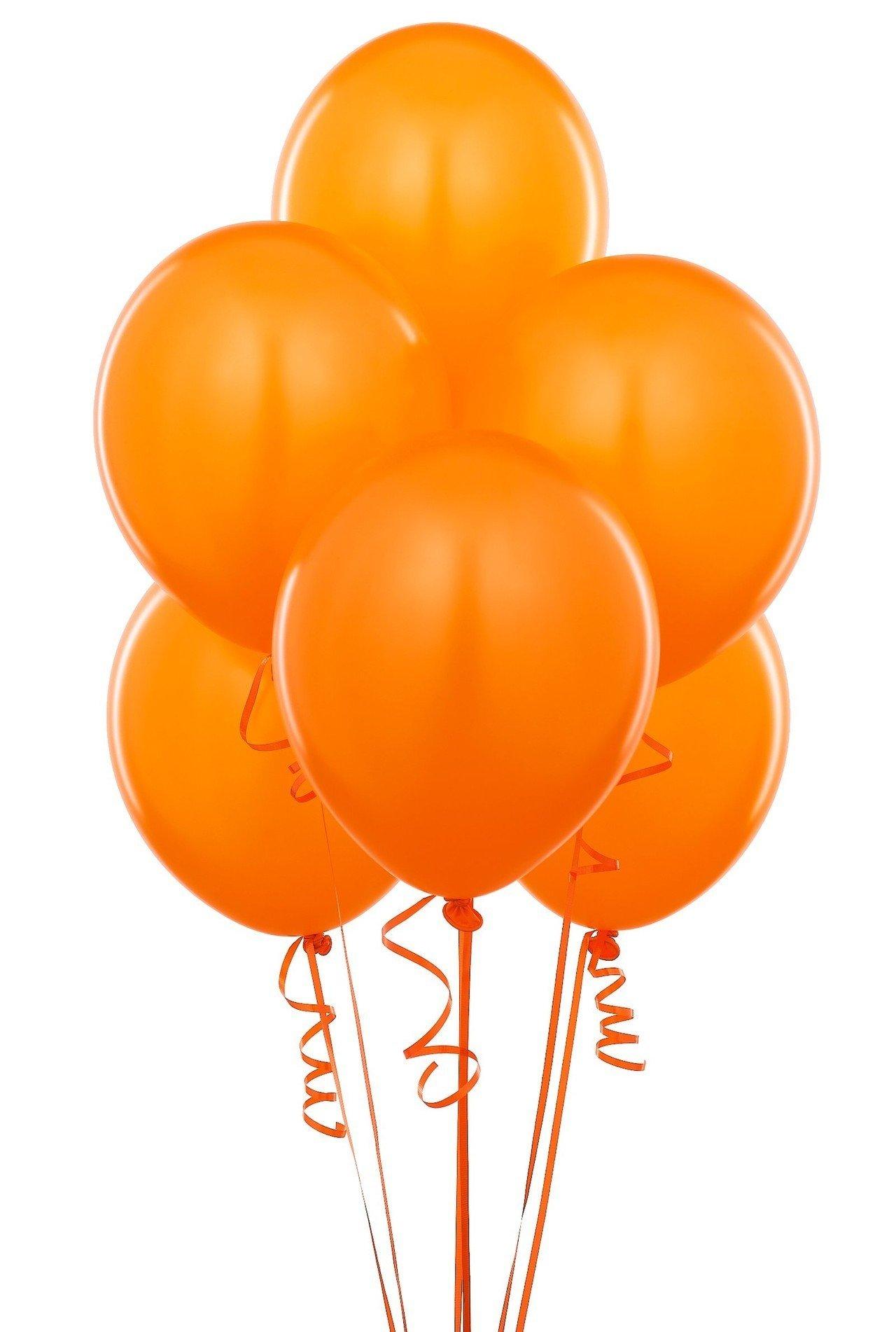 Облако оранжевых шаров 25шт