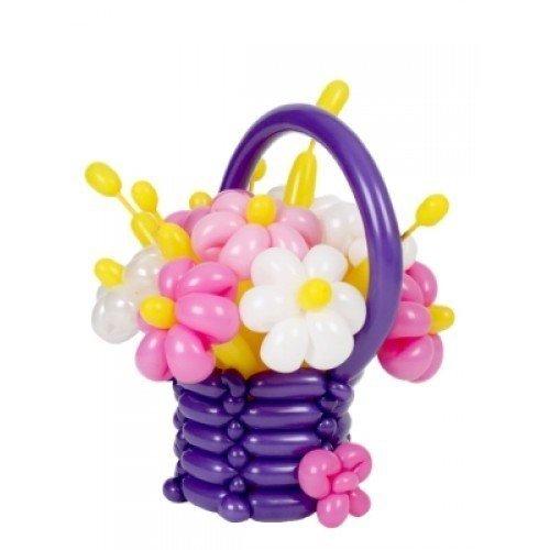 корзина цветов 3