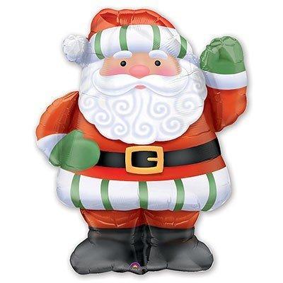 Шар фигура Новый год Санта рост