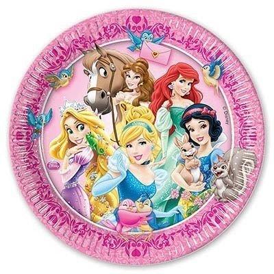 Тарелки малые Принцессы и зверушки