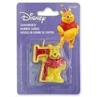 Свеча цифра 7 Disney Винни