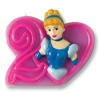 свеча цифра 2 Принцессы 8 см