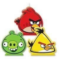 Свечи для торта Angry Bird 4 штуки