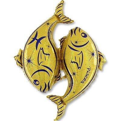 Г Зодиак Рыбы золотой