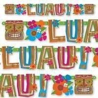 Гирлянда буквы LUAU