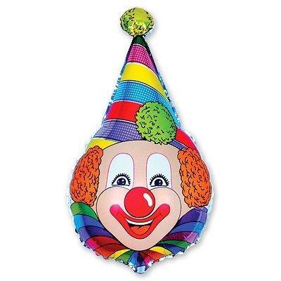 Шар фигура Клоун в колпаке