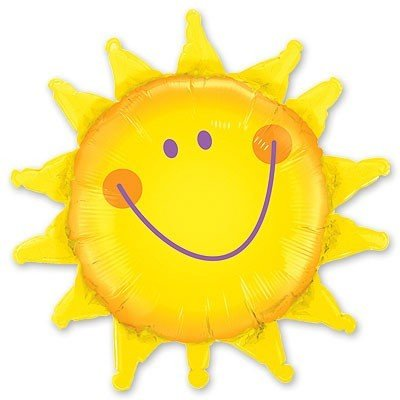 Шар фигура Солнце - Улыбка.