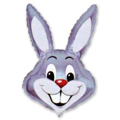 Шар фигура Кролик серый