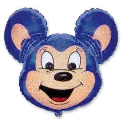 Шар фигура Майти Маус синий