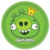 Тарелки Angry Birds 17см 8 штук