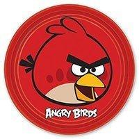 Тарелки Angry Birds 23 см 8 штук