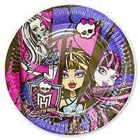 Тарелки большие Monster High