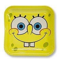 Тарелки Губка Боб квадратные 8 штук