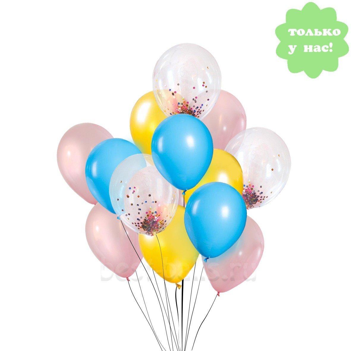 Букет из шаров Ванильное Небо