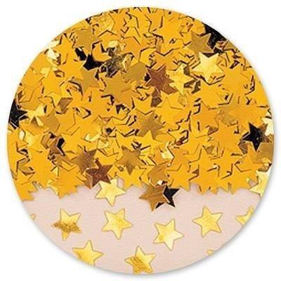 Конфетти Звезды золотые 14 гр