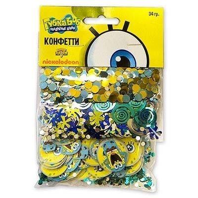 Конфетти Губка Боб, 3 вида, 34 гр