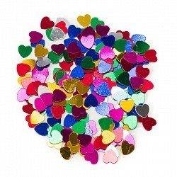 Конфетти маленькие сердечки ассорти 17 гр