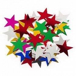 Конфетти звезды ассорти 17гр