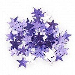 Конфетти звезды сиреневые 17 гр