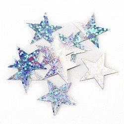 Конфетти звезды голография 17 гр
