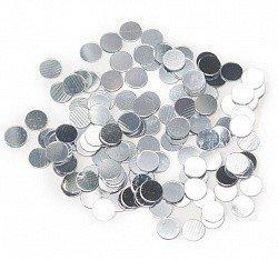 Конфетти кружки серебро 17гр