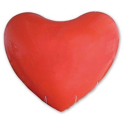 Гигант Сердце 2,5 м красный