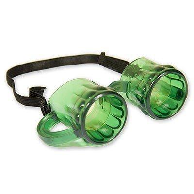 Очки Пивные кружки зеленые