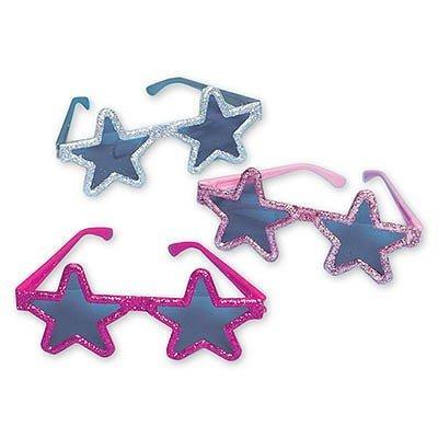 Очки Звезды блеск, 6 штук
