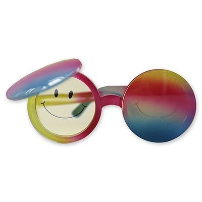 Очки Улыбка радуга круглые
