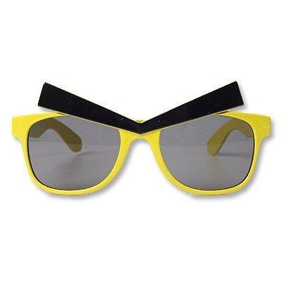 Очки Злые Брови желтые