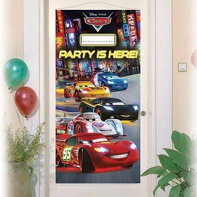 Баннер на дверь Тачки Неон