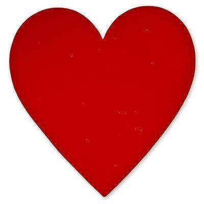 Баннер Сердце красное, 27 см
