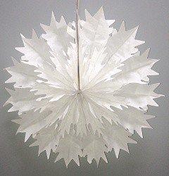 Диск Снежинка Белый 41 см