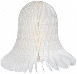 Колокол Белый 30 см