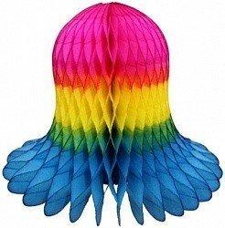 Колокол Разноцветный 20 см