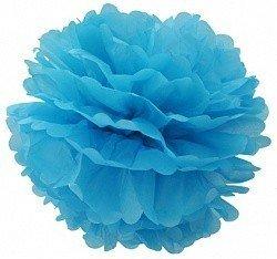 Помпон Голубой 30 см