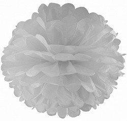 Помпон Белый 20 см