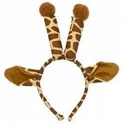 Ободок с ушками Жираф