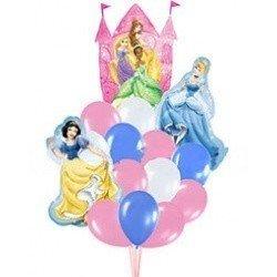 Букет замок принцес